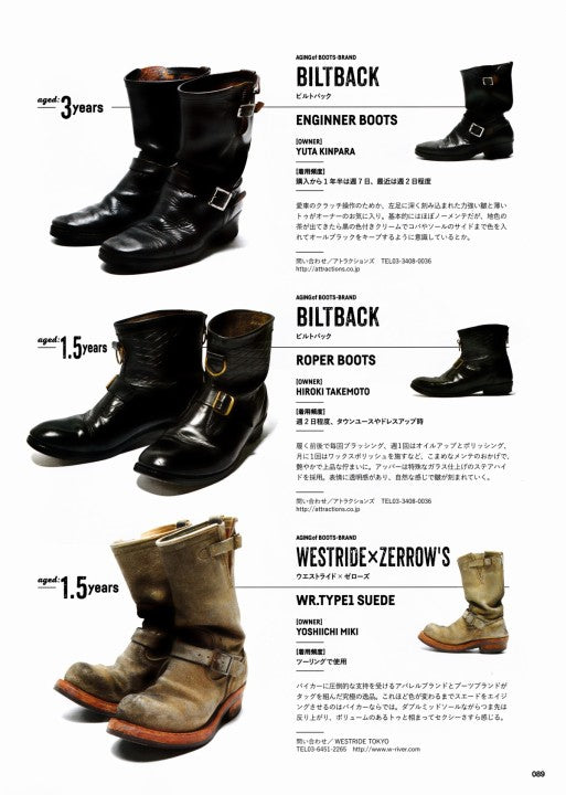 Lightning別冊 Vol.171 Aging of BOOTS (7)
