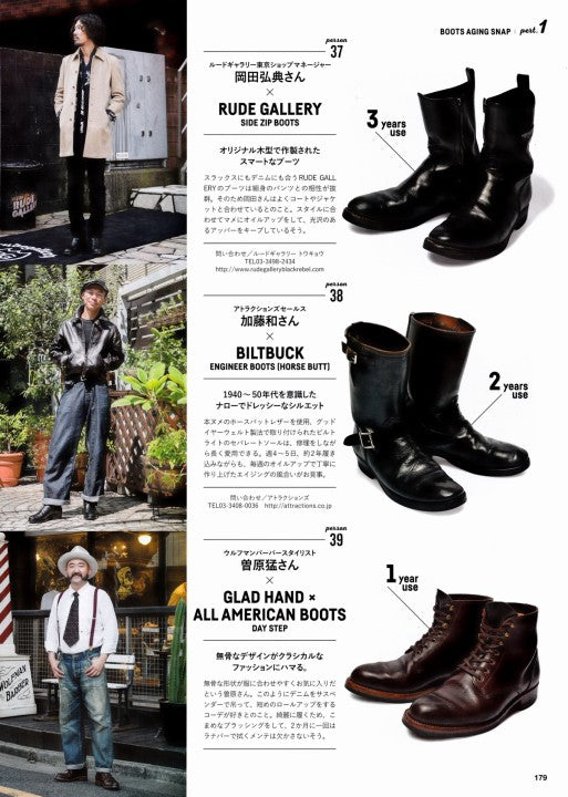 Lightning別冊 Vol.171 Aging of BOOTS (9)