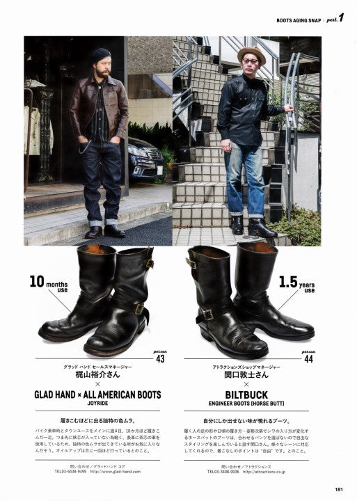 Lightning別冊 Vol.171 Aging of BOOTS (10)