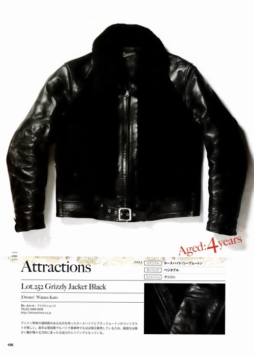 AGING of LEATHER JACKET 別冊Lightning Vol.161 2017年1月 Press Info (10)