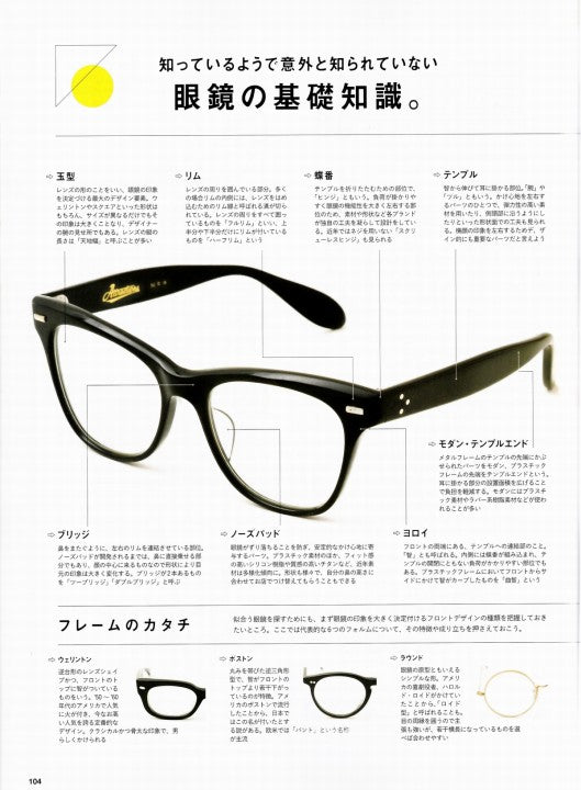 別冊Lightning Vol.162 EYEWEAR BOOK 2017年2月 Press Info (4)