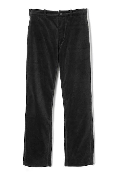 Lot.648 Cords Gents Trousers -Black-