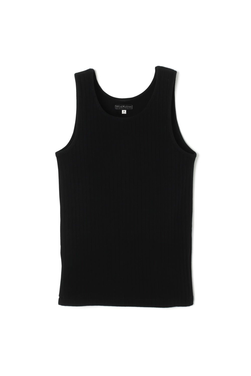 Lot.428 Dropped Stitch Tank Top -Black-