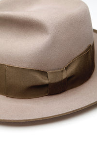 Lot.619 Beaver Fur Felt Hat -Khaki Beige-
