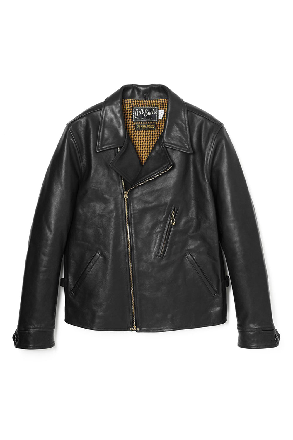 Lot.379 Horsehide Double Flats Jacket