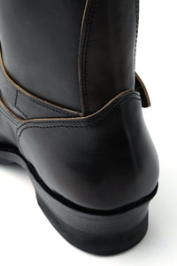 Lot.444 Engineer Boots (Horse Butt) -Black-