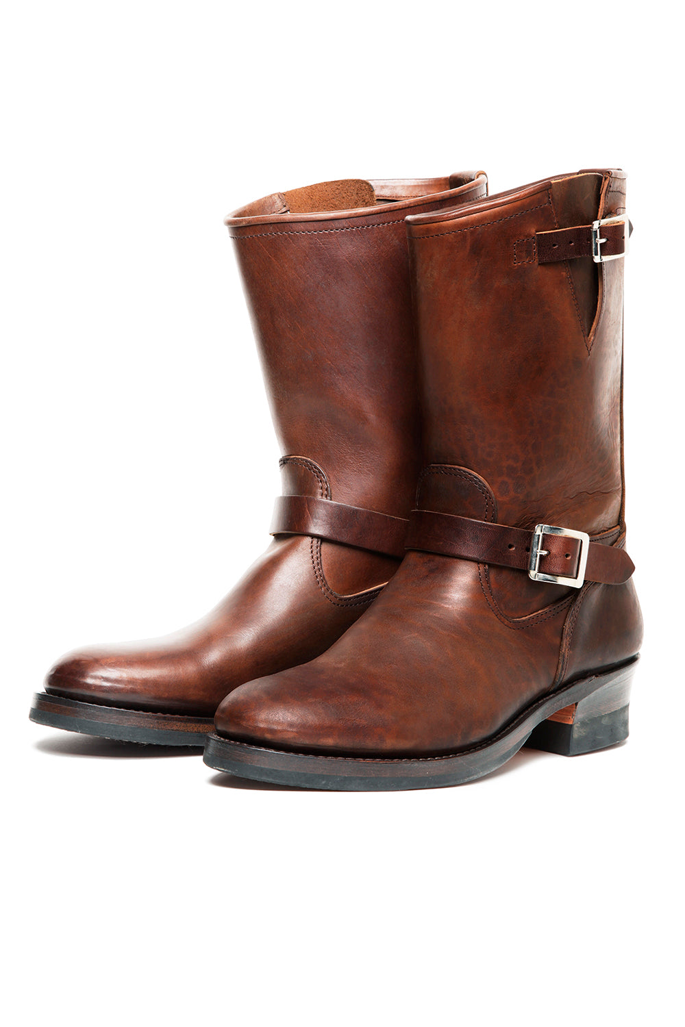 Lot.444 Engineer Boots (Horse Butt) -Brown-