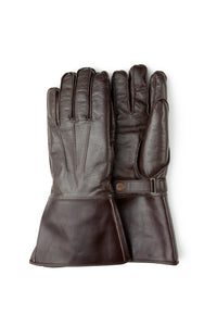Lot.448 Horsehide Gauntlet Gloves -Brown-