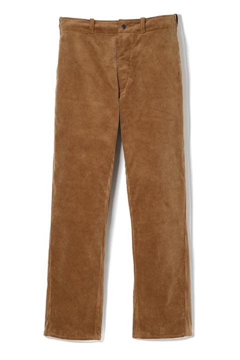 Lot.648 Cords Gents Trousers -Camel-