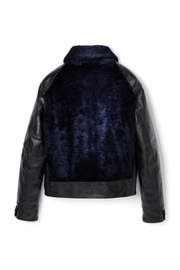 Lot.500 Grizzly Jacket -Black/Navy-