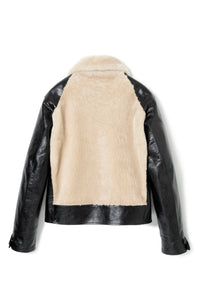 Lot.500 Grizzly Jacket -Black/Cream-