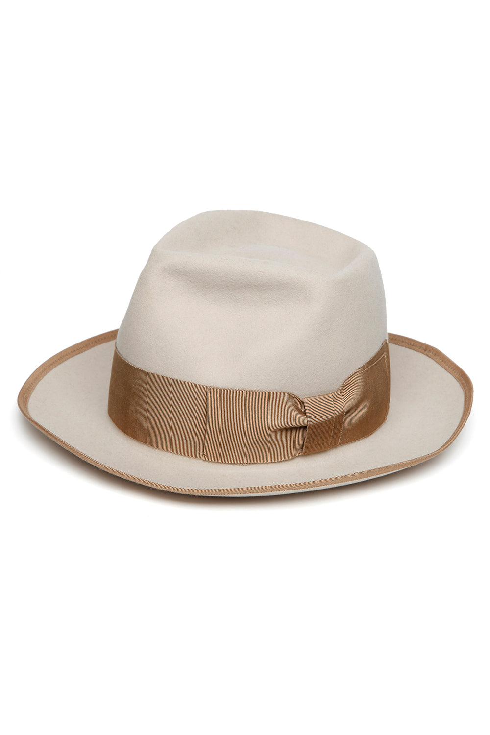Lot.619 Beaver Fur Felt Hat -Ivory-