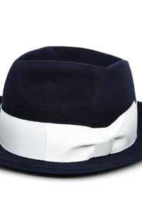 Lot.620 Rabbit Fur Felt Hat -Navy-