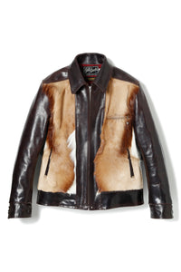 Lot.626 Springbok Hair On Hide & Horsehide LL Leather Jacket