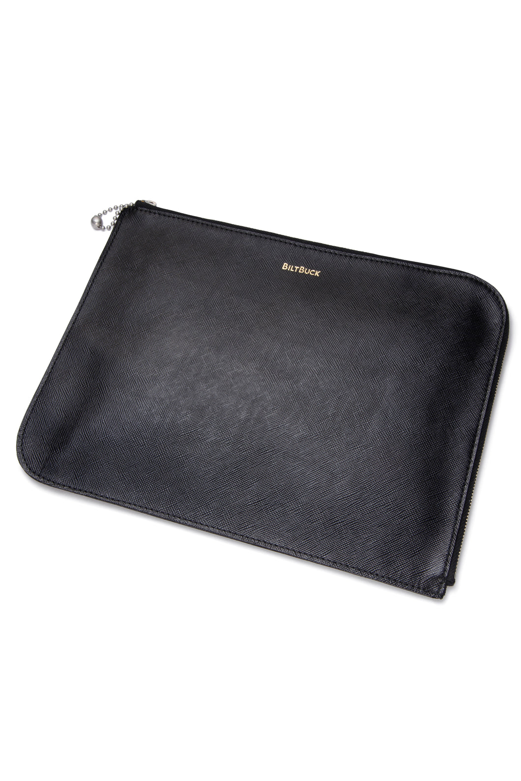 Lot.634 Horsehide Stationery Case -Black-