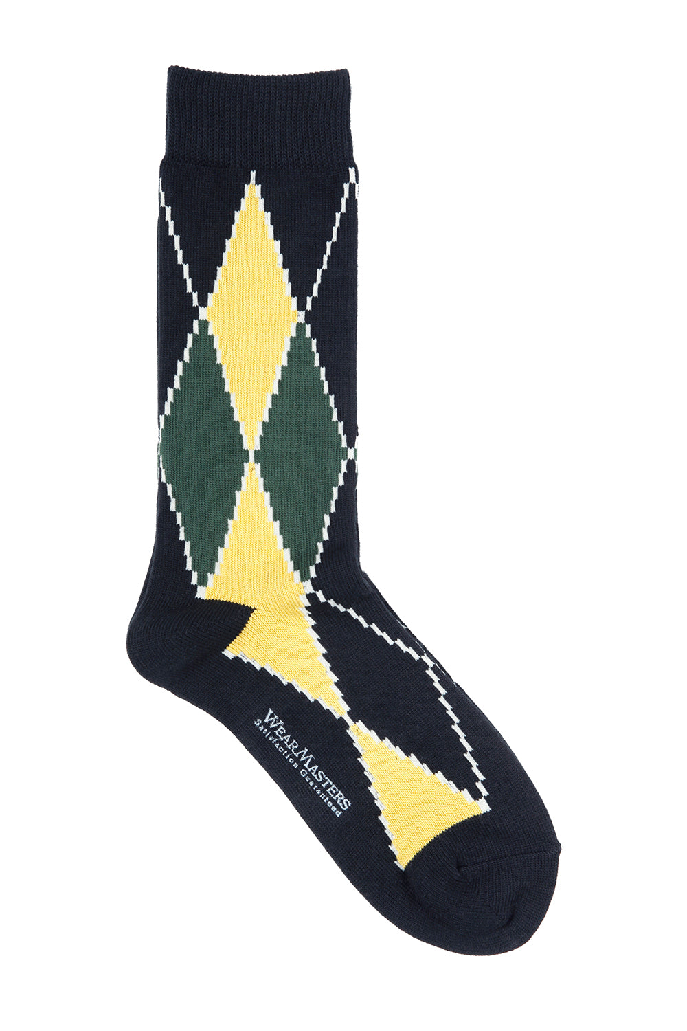 Lot.655 Argyle Sox -Black-