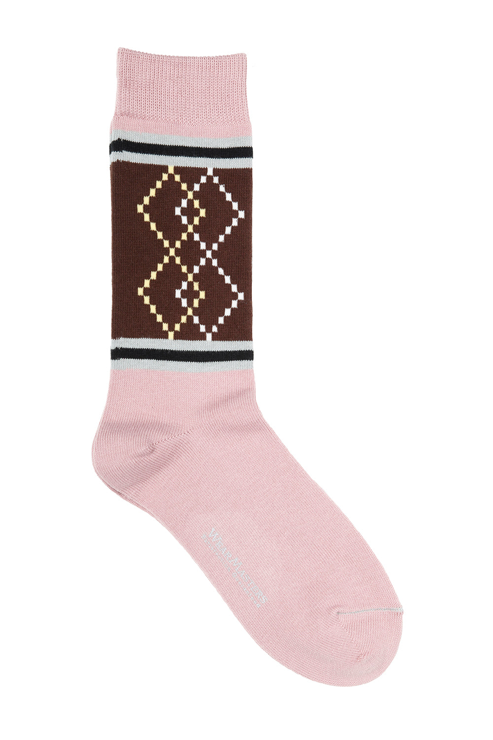 Lot.658 Two Tone Diamond Sox -Pink-