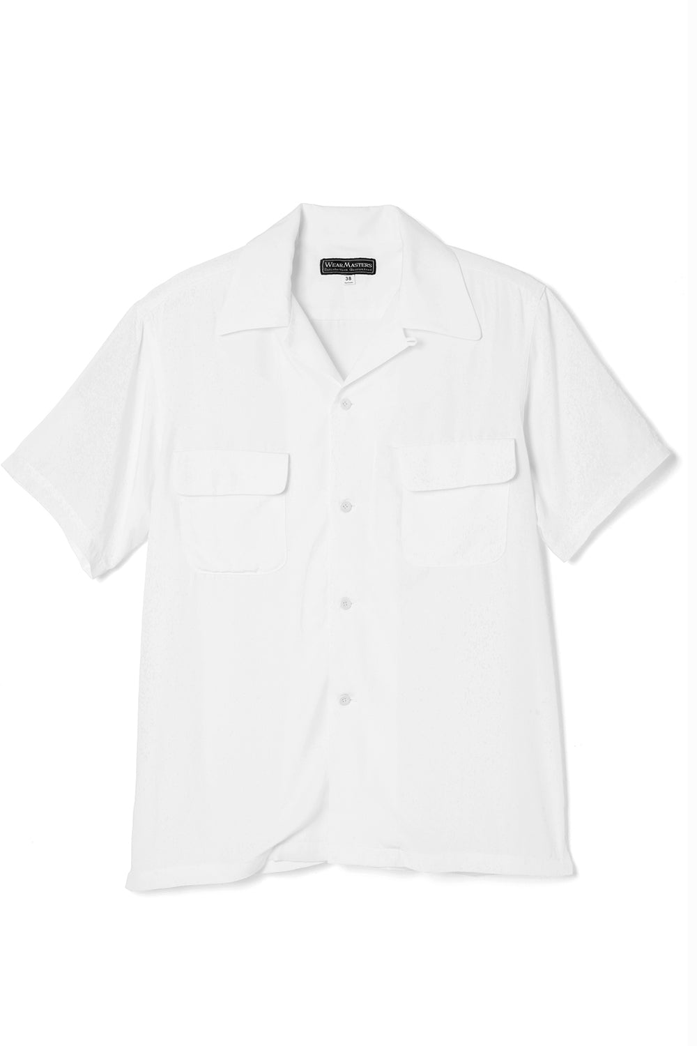 Lot.661 Rayon S/S Shirts -White-