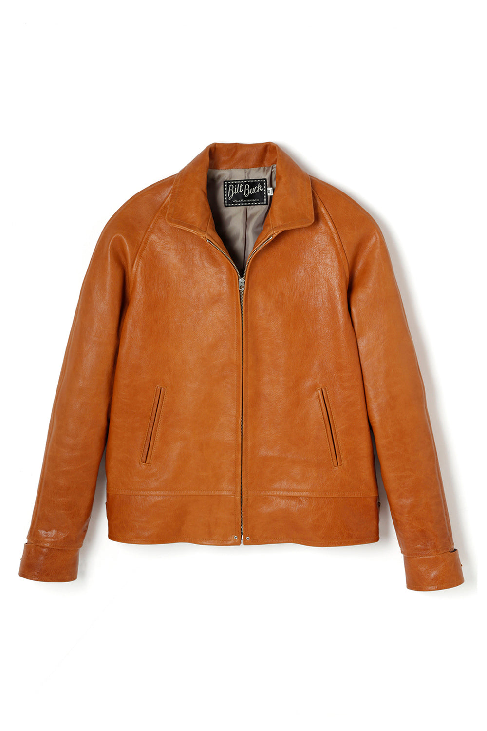 Lot.670 Goatskin Lockbil Jacket -Camel-