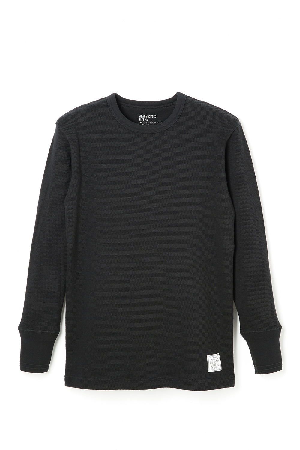 Lot.680 Crew Neck Thermal -Black-