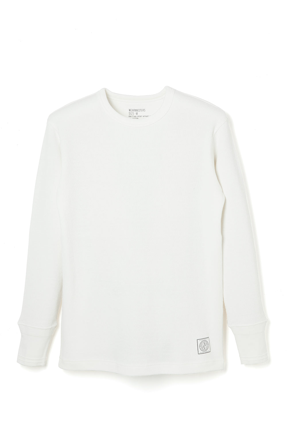 Lot.680 Crew Neck Thermal -White-