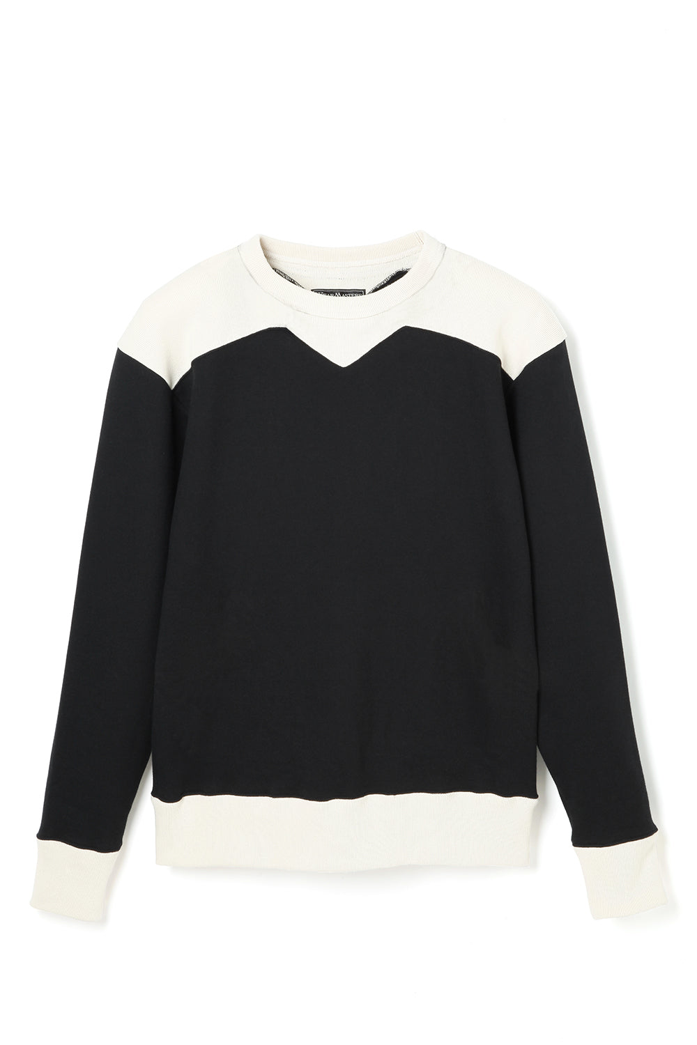 Lot.685 SW Two Tone Sweat -Black-