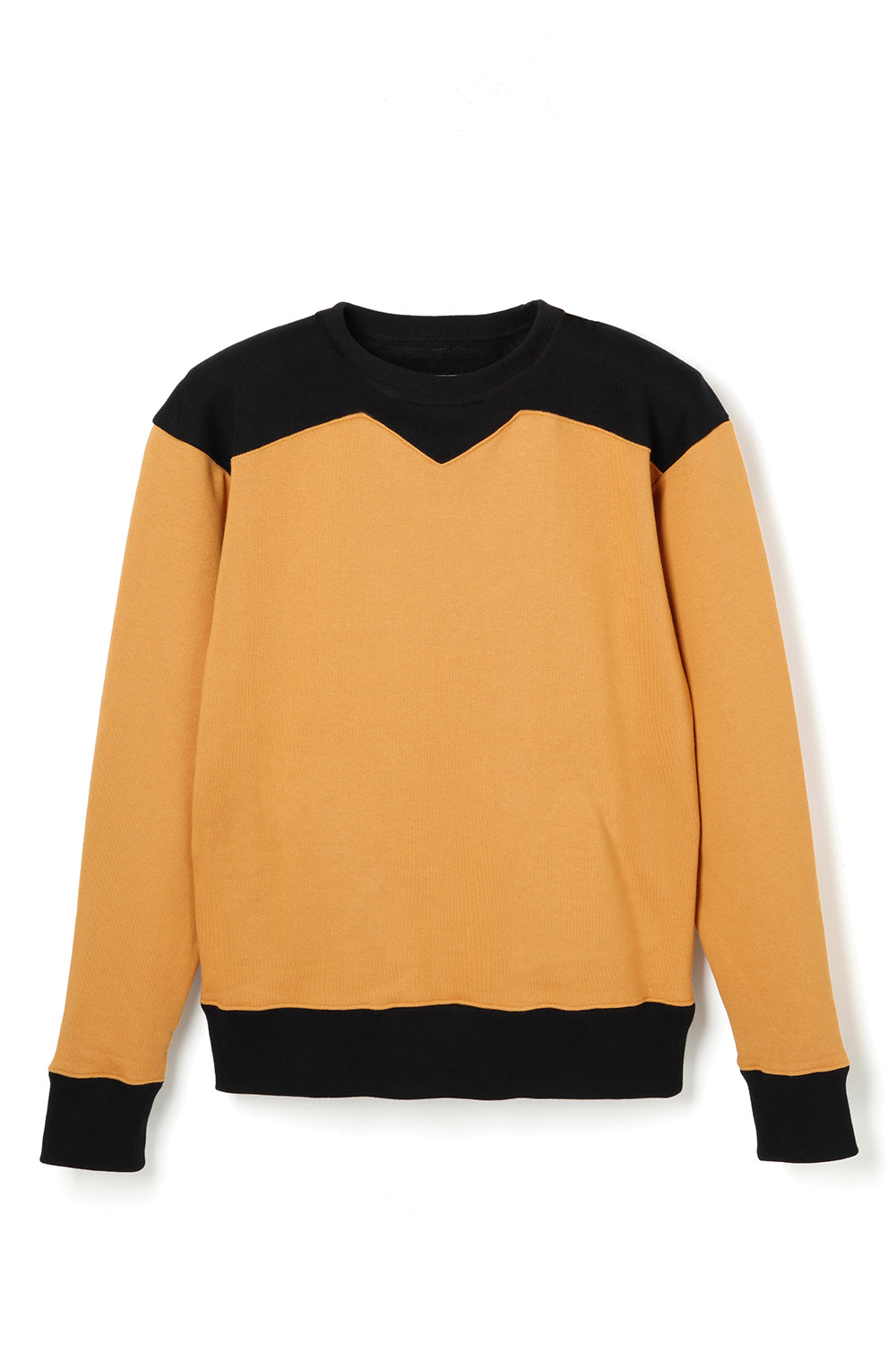 Lot.685 SW Two Tone Sweat -Mustard-