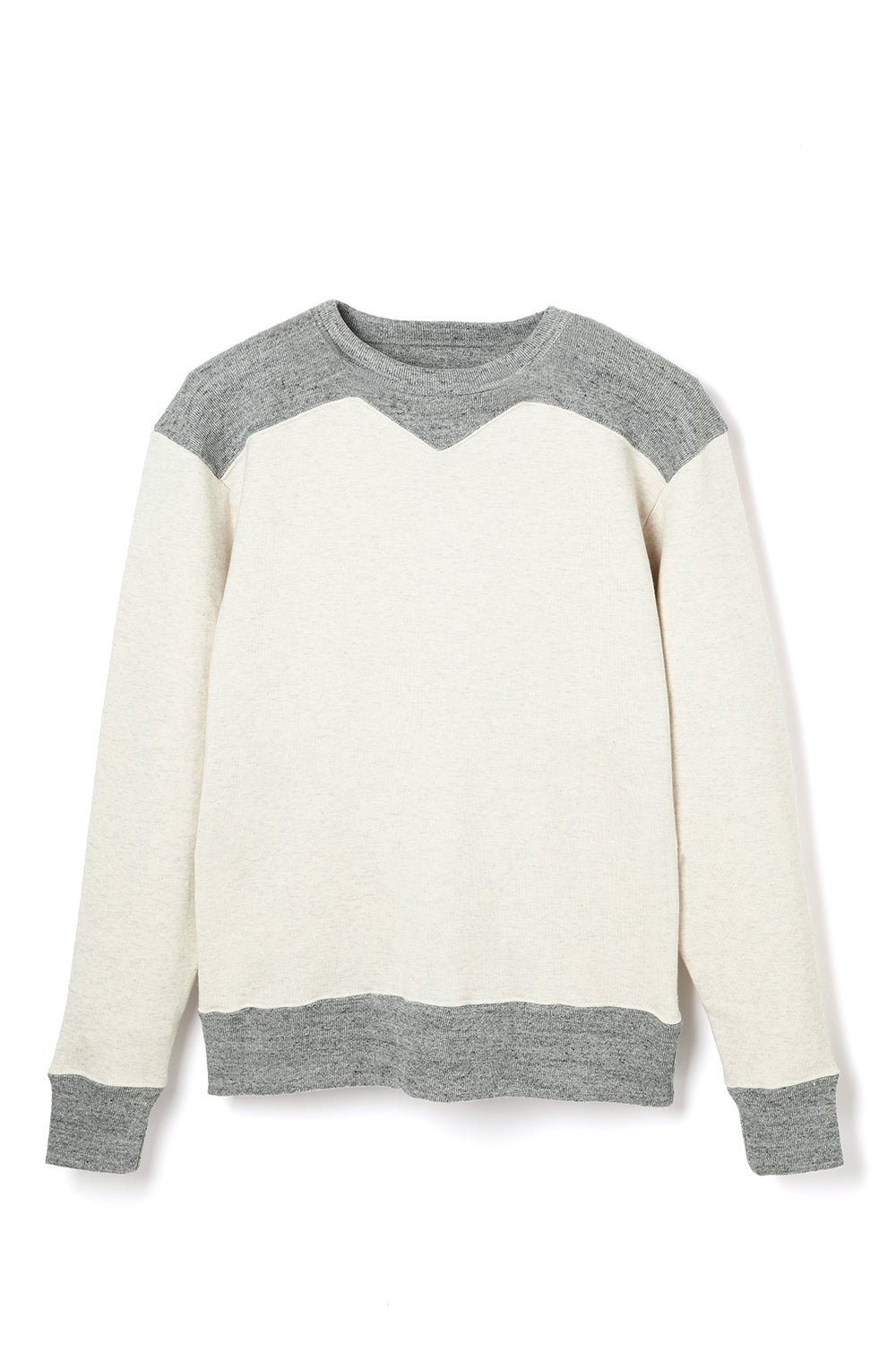 Lot.685 SW Two Tone Sweat -Oatmeal-
