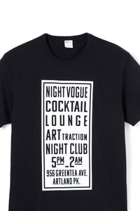 ART046 THE SIGN S/S Tee -Black-