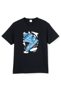 ART047 THE STAGE S/S Tee -Black-