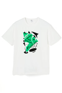 ART047 THE STAGE S/S Tee -White-