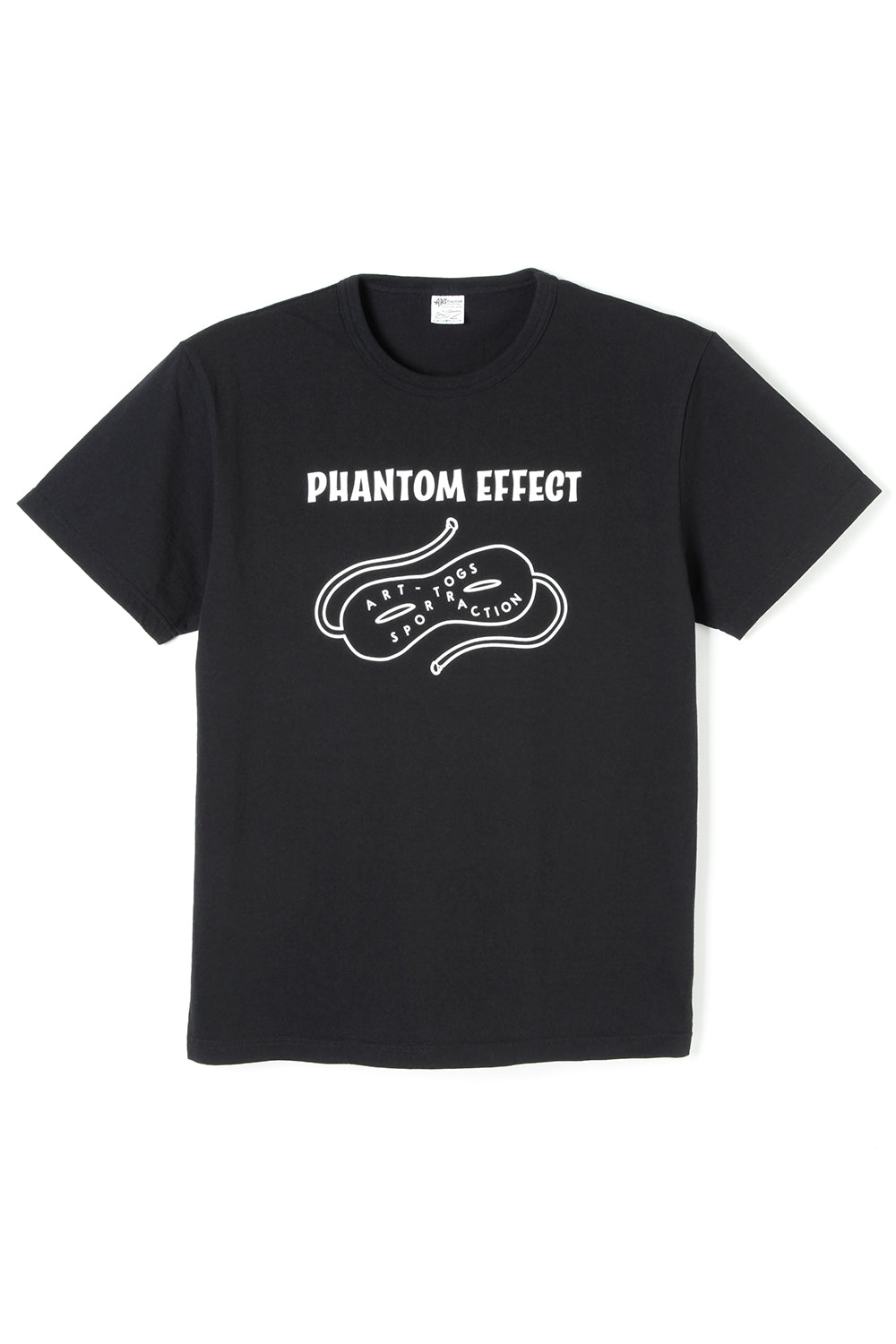 ART061 Phantom Effect S/S Tee -Black-