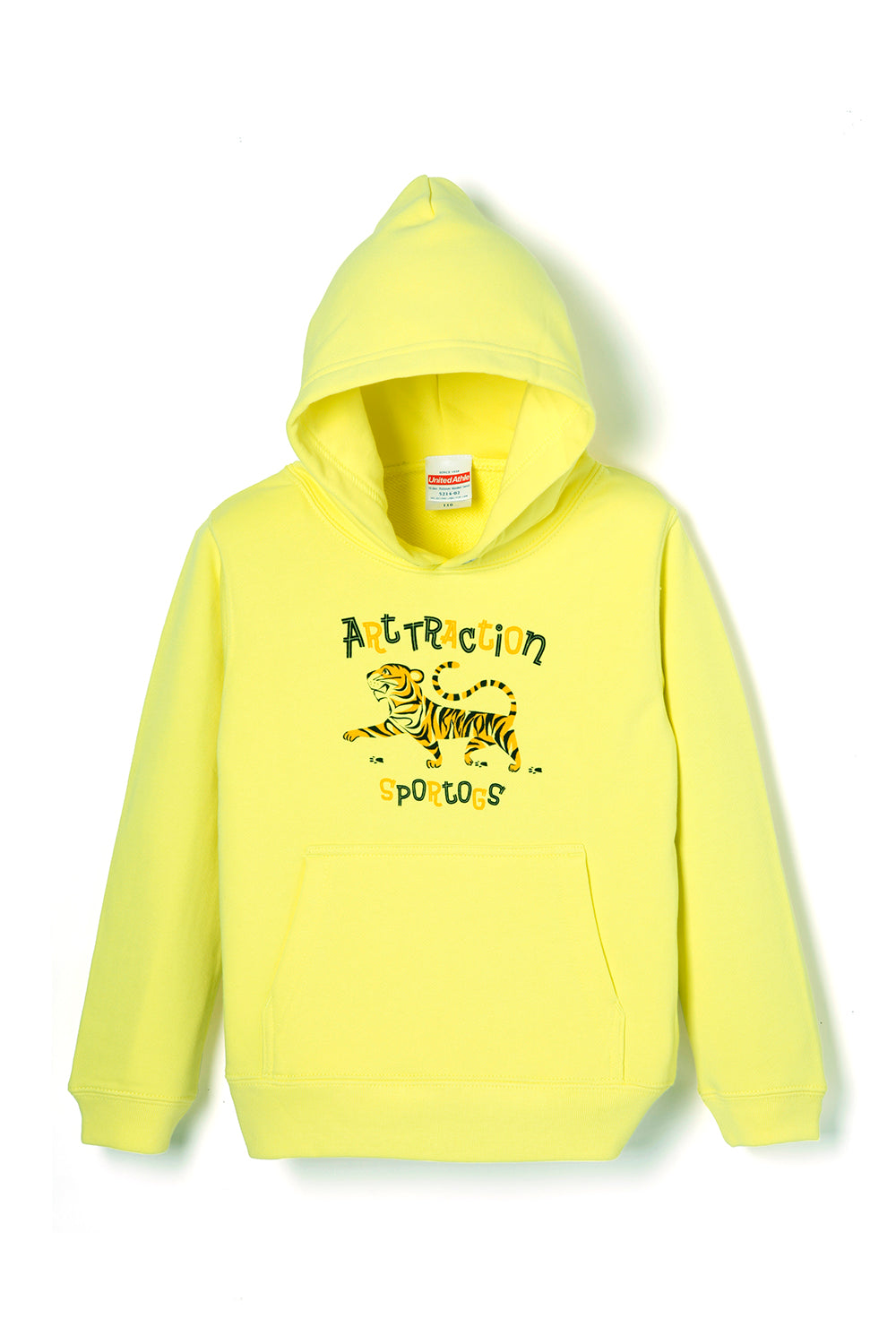 ART068 Kids Tiger Parka -Yellow-