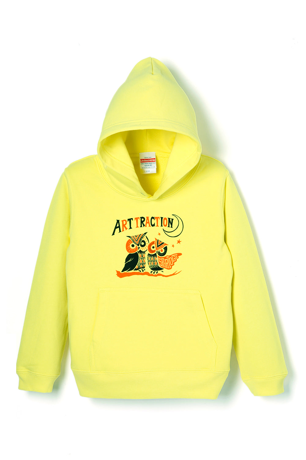 ART069 Kids Owl Parka -Yellow-
