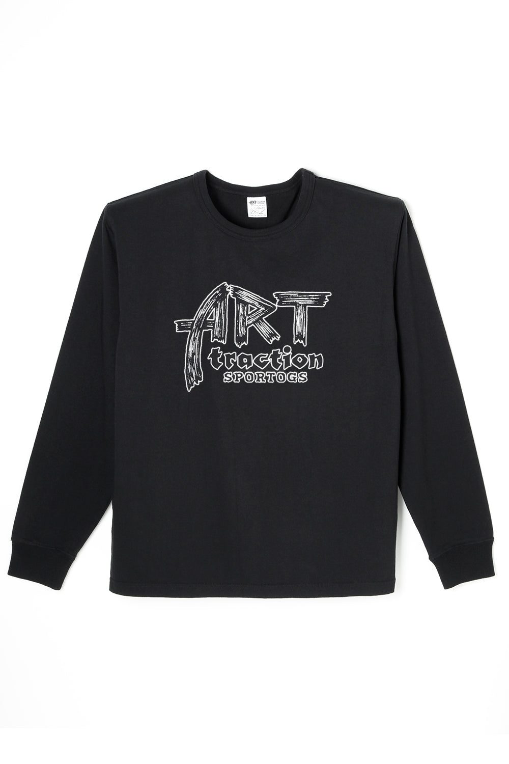 ART041 ARTtraction SPORTOGS L/S Tee -Black-