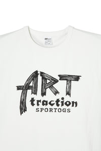 ART041 ARTtraction SPORTOGS L/S Tee -White-