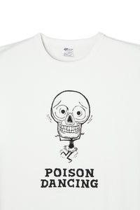 ART044 Poison Dancing L/S Tee -White-