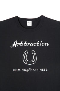 ART045 Horseshoe L/S Tee -Black-