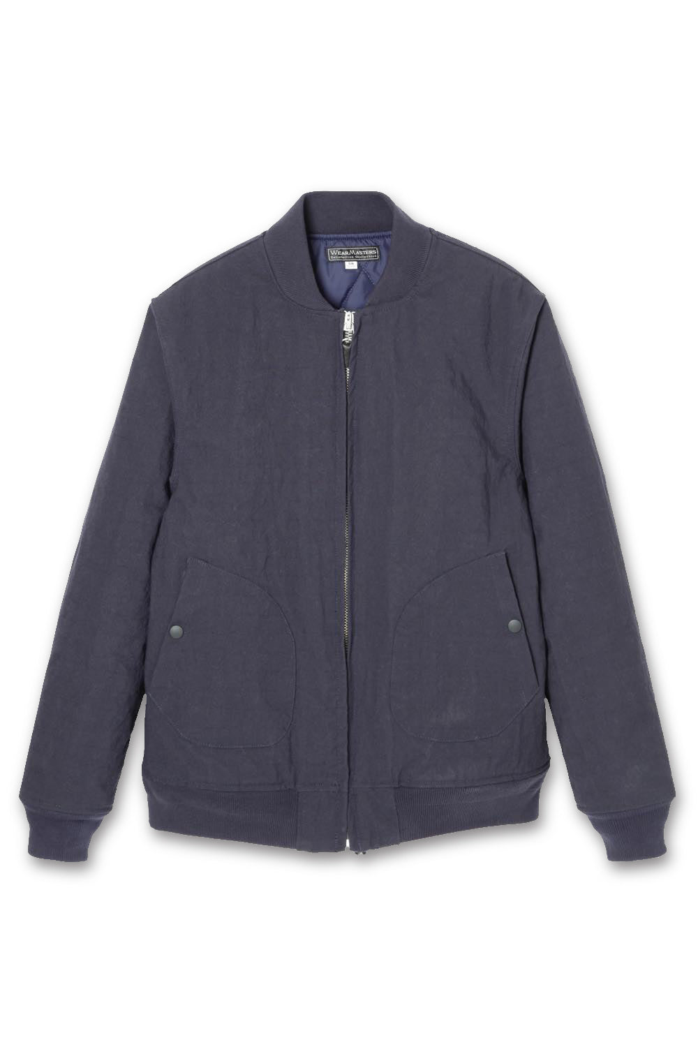 Lot.645 Nylon Aviator Jacket -Navy-