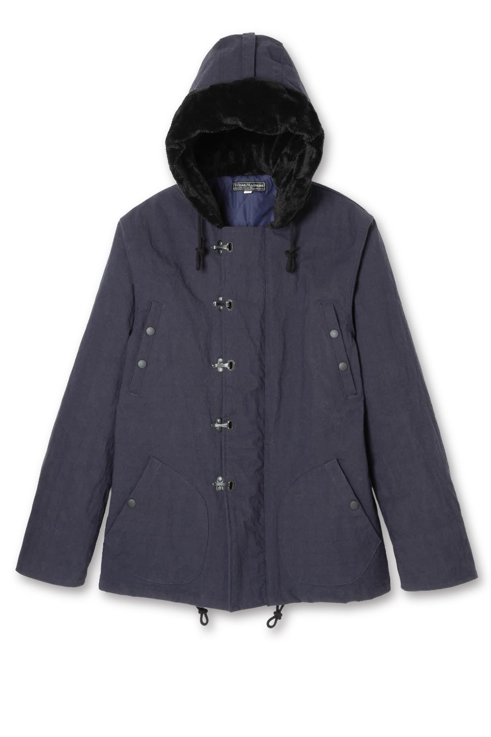 Lot.644 Nylon Hoodie Hook Jacket -Navy-