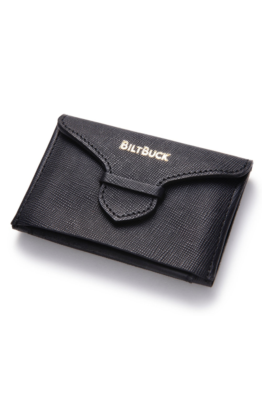 Lot.632 Horsehide Holding Wallet -Black-