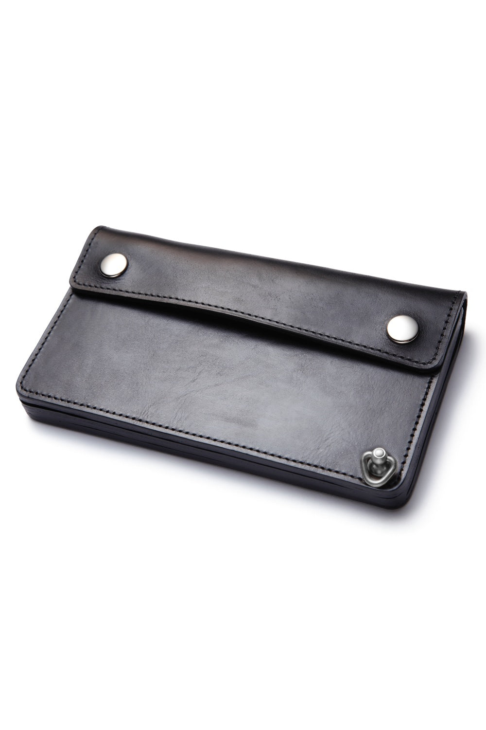 Lot.628 Tracker Wallet -Black×Nickel-