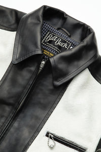 Lot.576 Hair On Cowhide LL Leather Jacket -Black-