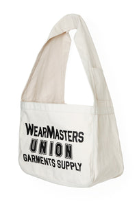 Lot.599 News Paper Bag -White-