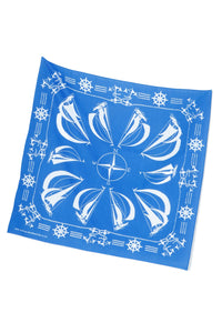 "Lot.617 Bandanna ""Yacht"" -Blue-"