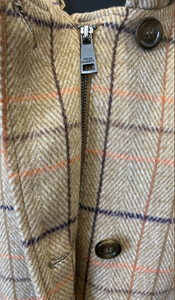 FUCHS AND SCHMITT Fall Tweed Car Coat