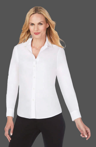 FOXCROFT DIANE Non-Iron Pinpoint Shirt No Darts