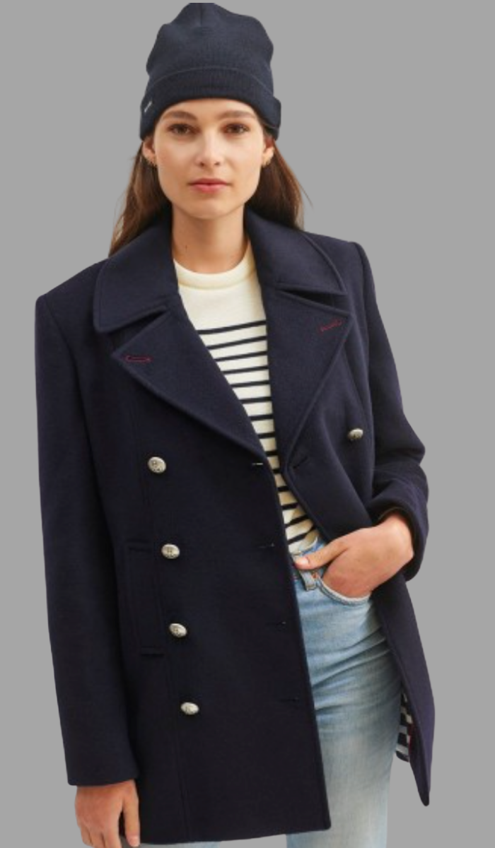 SAINT JAMES ST BRIAC III  Peacoat