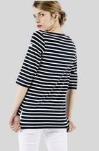 Load image into Gallery viewer, SAINT JAMES PHARE Boat Neck Striped Tunic