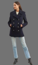 Load image into Gallery viewer, SAINT JAMES ST BRIAC III  Peacoat